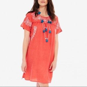 Roberta Roller Rabbit Embroidered Dress size Small